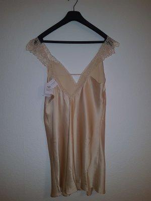 Negligee cream silk