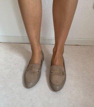 Pantofel szaro-brązowy
