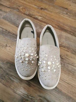 Graceland Pantoffels lichtgrijs