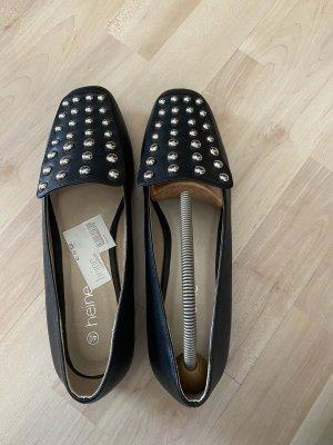 Heine Zapatos formales sin cordones negro-color plata