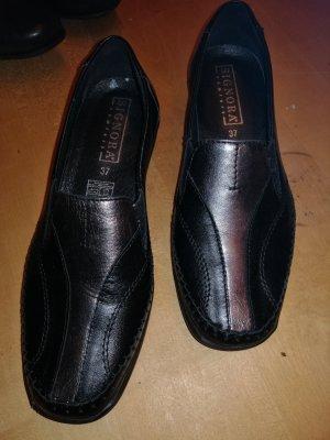 SIGNORA Pantofel czarny