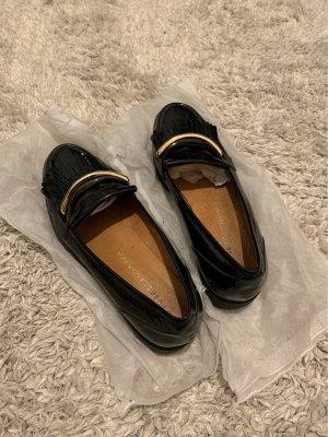 DFUSE Zapatos formales sin cordones negro Cuero