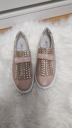 Alisha Slippers dusky pink-pink