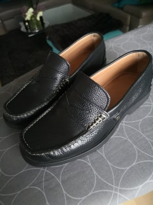 Aigner Slippers black leather