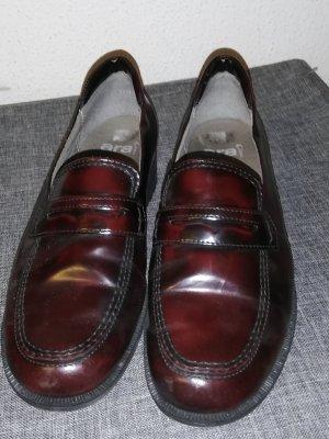ara Pantofola nero-bordeaux