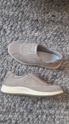 Ecco Zapatos formales sin cordones beige Cuero