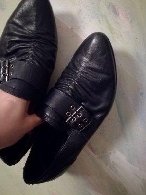 Pantofola blu scuro