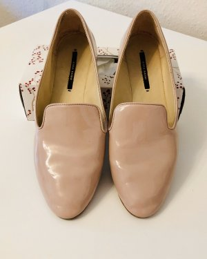 Slipper Ballerina Lack rosa gold