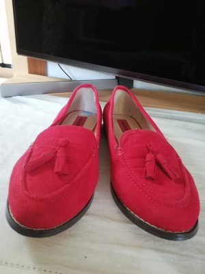 London Rebel Pantofel czerwony