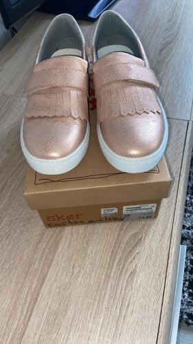 Espadrille sandalen stoffig roze