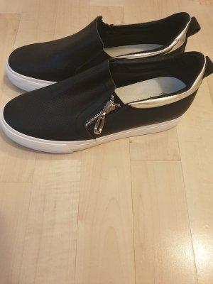 Flyfor Zapatos formales sin cordones negro