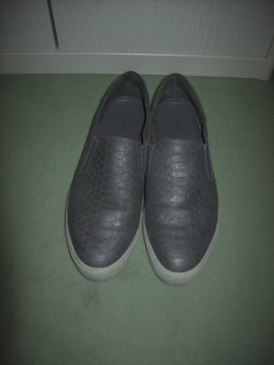 Graceland Slip-on Sneakers grey imitation leather
