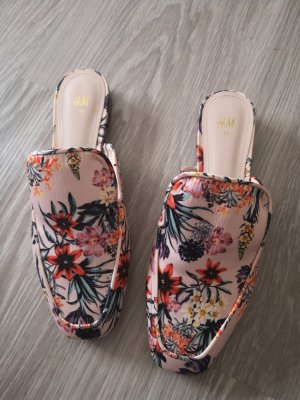 H&M Slippers light pink-pink
