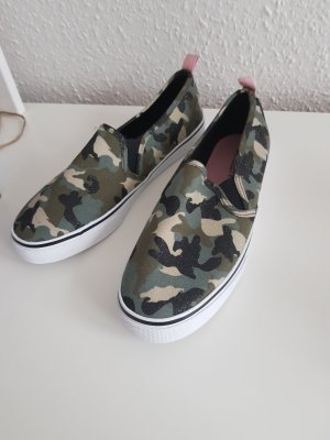 H&M Pantofola nero-cachi
