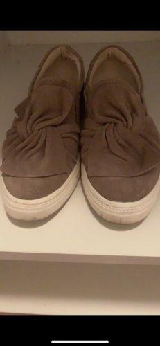 5th Avenue Zapatos de marinero marrón grisáceo-marrón claro