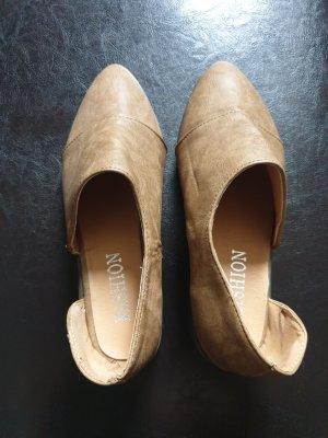 fashion Pantofola beige