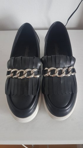 Coolway Zapatos formales sin cordones negro