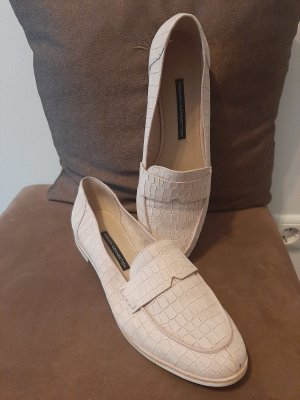 Slipper/ Loafers von French Connection in Rosé