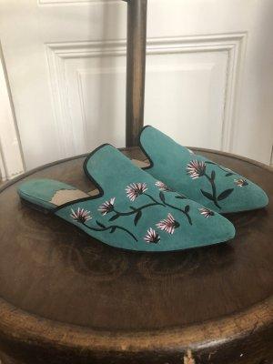 lazzarini Dianette sandalen veelkleurig Leer