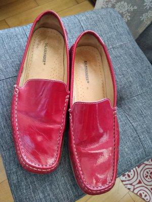 Salamander Zapatos formales sin cordones rojo