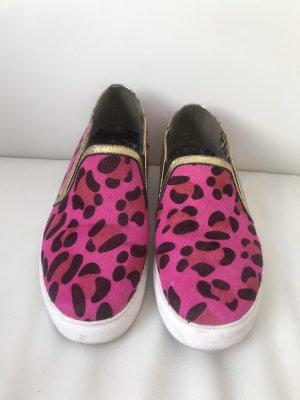 Slipper Pink Fell Gr. 38