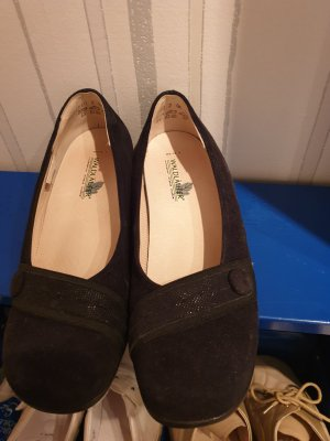 Waldläufer Zapatos formales sin cordones negro