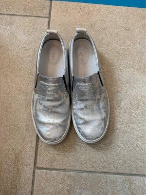Slipper - Silber Used Look