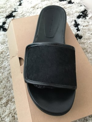 Zara Beach Sandals black