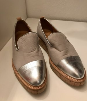 Marc O'Polo Slip-on Shoes silver-colored-oatmeal