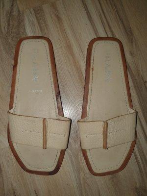 Prada Comfort Sandals brown-oatmeal