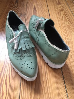 Xyxyx Slip-on Shoes turquoise-sage green