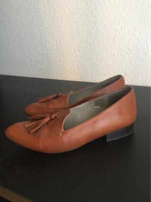Zalando Collection Zapatos formales sin cordones marrón-coñac