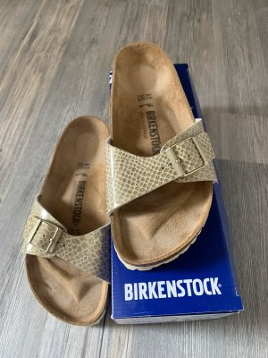 Birkenstock Roman Sandals gold orange