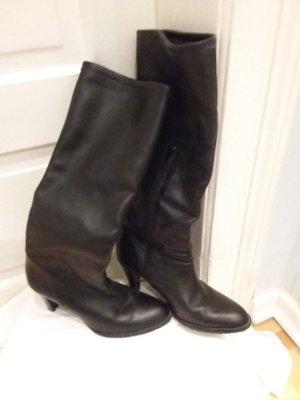 Zara Ocieplane buty czarny