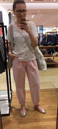Zara Boyfriend jeans rosé