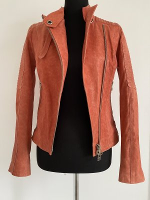 Sly 010 Giacca in pelle salmone Pelle