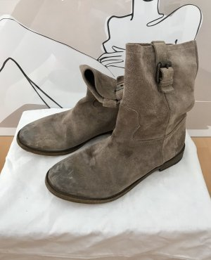 Sly 010 Slouch Booties grey brown-bronze-colored