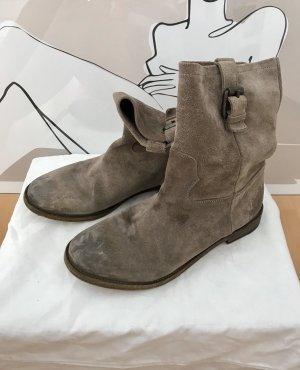 Sly 010 Slappe laarsjes grijs-bruin-brons