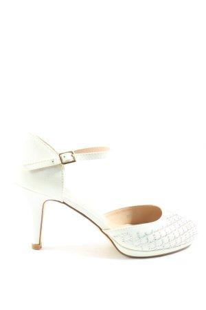 small swan Mary Jane pumps wit elegant