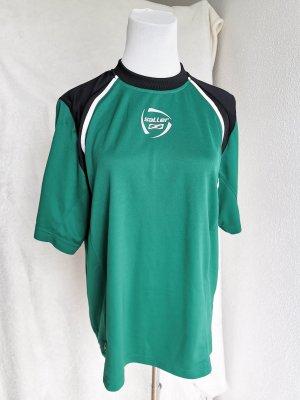 Maglietta sport nero-verde