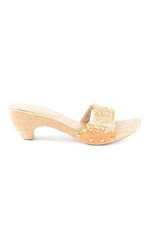 Platform High-Heeled Sandal brown-light orange casual look