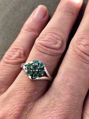 Smaragd 835 Silber Ring Silberring