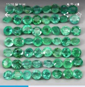 Smaragd lot 4,7 ct