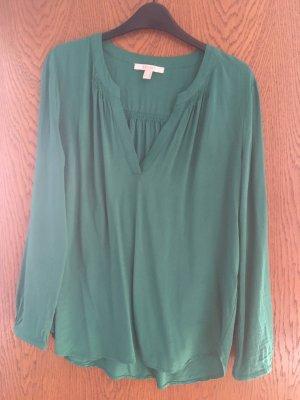 Smaragdgrüne Tunika/Bluse von Esprit