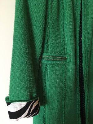Długa marynarka zielony