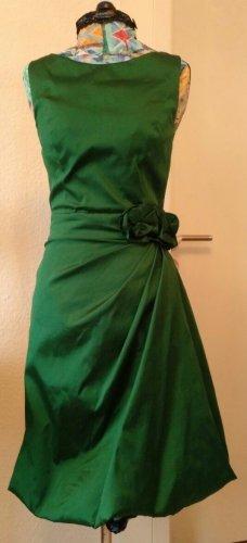 Smaragdgrünes Abendkleid Young Couture Barbara Schwarzer XS