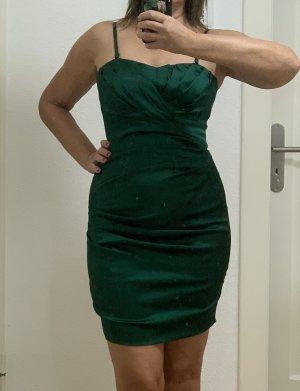 Smaragdgrünes Cocktailkleid/Partykleid