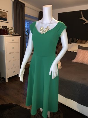 Smaragdgrünes Kleid von Vintage Chic