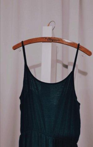 smaragdgrünes Sommerkleid