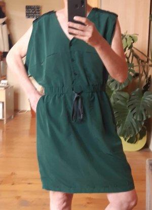 Smaragdgrünes Vintage Sommerkleid von H&M